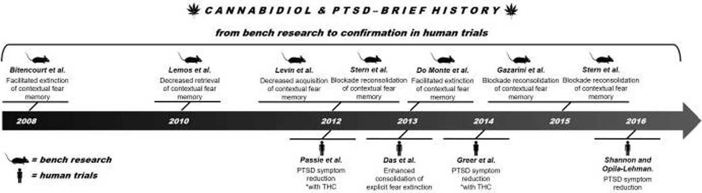 CBD Oil Australia PTSD CBD History