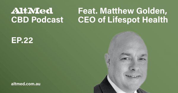 Matthew Golden, CEO of Lifespot Health weed 1