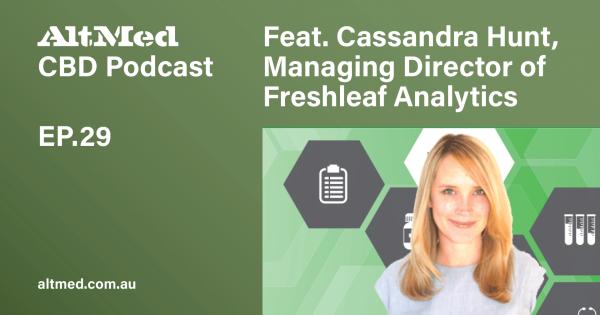 Cassandra Hunt from Freshleaf Analytics Cannabis Podcast